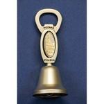 Metal Hand Bell Bottle Opener - Poznan, City Hall