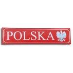 Metal Sign - POLSKA with Eagle