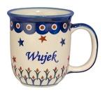 New Polish Pottery 12oz Mug - WUJEK, UNCLE