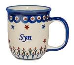 New Polish Pottery 12oz Mug - SYN, SON
