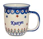 New Polish Pottery 12oz Mug - KUZYN, COUSIN (M)