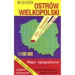 Ostrow Wielkopolski Region Map