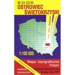 Ostrowiec Swietokrzyski Region Map