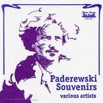 Paderewski Souvenirs - Various Artists CD