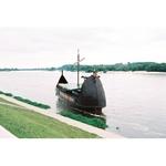 Photo Print - Boat on the Wisla River