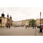 Photo Print - Cracow Market Square with Mariacki Church