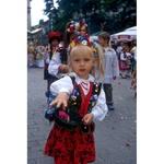 Photo Print - Folk Girl in Traditional Costume