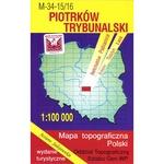 Piotrkow Trybunalski Region Map