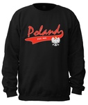 Poland College - Adult Crew Neck Sweatshirt