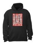 Poland Crests - Adult Sweatshirt Hoodie