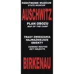 Poland Map - Auschwitz Birkenau Camp