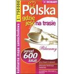 Poland Roadside Restaurant Guide Map