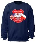 Polish American - Adult Crew Neck Sweatshirt
