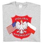 Polish American - Ash T-Shirt