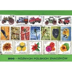 Polish Collectible Postmarked Stamp Sets - 200 Mixed Poland