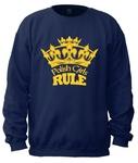 Polish Girls Rule - Adult Crew Neck Sweatshirt