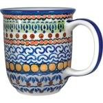 Polish Pottery 12oz Mug - Unique Design # A4