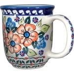 Polish Pottery 12oz Mug - Unique Design # A13