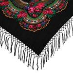 Polish Shawls - Traditional Folk Motif, 48 inches