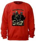 Polish Special Forces GROM - Adult Crew Neck Sweatshirt