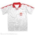 POLSKA Gray Eagles Soccer Athletic Shirt