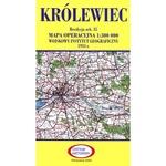 Pre WWII Poland  Map - Krolewiec 1927-1938