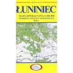 Pre WWII Poland  Map - Luniniec 1927-1938
