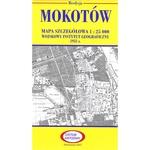 Pre WWII Poland  Map - Mokotow 1927-1938