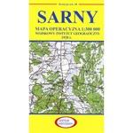 Pre WWII Poland Map - Sarny 1927-1938