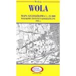 Pre WWII Poland  Map - Wola 1927-1938