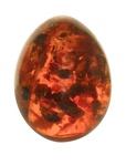 Pressed Amber Egg