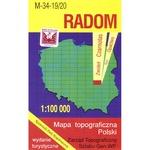 Radom Region Map