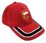 Red Baseball Cap - POLAND Flag Crest