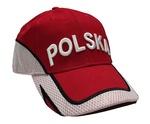 Red Baseball Cap - POLSKA