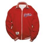 Red Polish American Appliqué Jacket