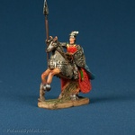 Resin Statue - Medieval Polish Mounted Knight #1-Blue Cape