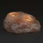 Salt Rock Candle Holder - Double Tealight Holder