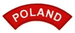 Sew-On Patch - POLAND Arch