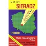 Sieradz Region Map