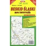 Silesian Beskids Mountain Range Map