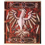 "Silkscreen - 16th c. Polish Eagle, 4.625"" x 5.25"""