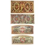 Silkscreen Bookmarks - Wawel Castle Tapestries, Set of 4