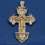 Silver Plated Crucifix - Wall Hanging #2 (3x4)