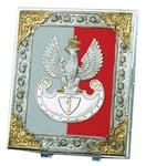 Silver Plated Icon - 1918 Pilsudski Legions Eagle