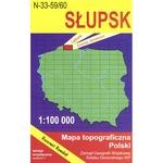 Slupsk Region Map