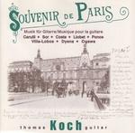 Souvenir de Paris - Musique pour la guitare