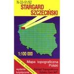 Stargard Szczecinski Region Map