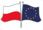 Sticker - Polish European Flags