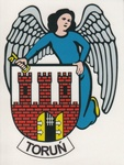 Sticker - Torun City Crest