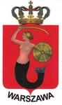 Sticker - Warszawa City Crest